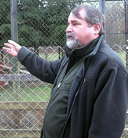 Jozef Popiel, a former Director of the Bialowieza National Park (Poland)
